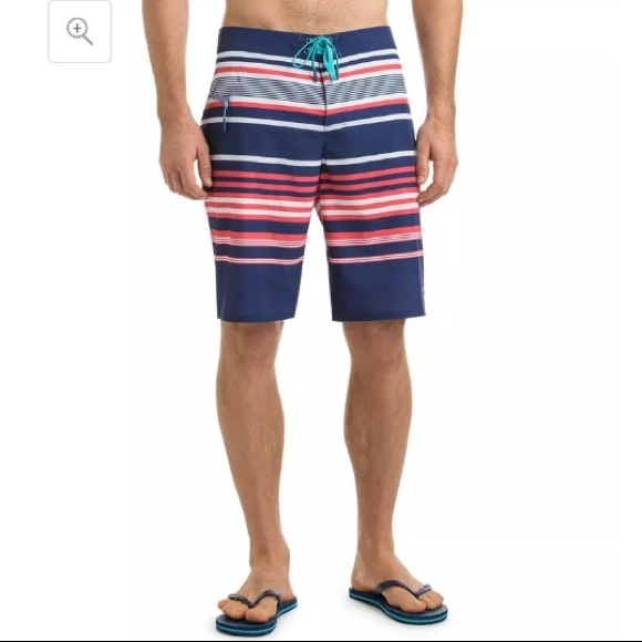 e902a0a6bb Vineyard Vines Swim | Americana Stripe Board Shorts | Poshmark